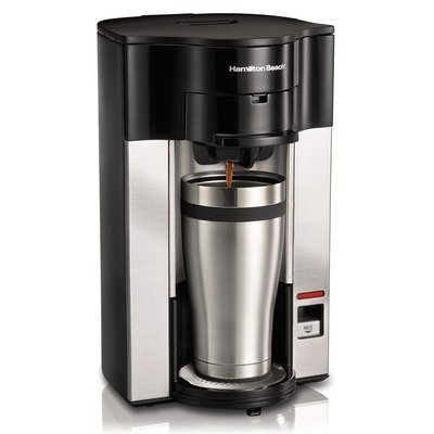 Hamilton Beach Personal Cup Stay or Go POD Brewer - 49993 by Hamilton Beach
