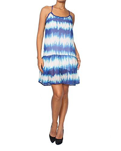 Pepe Jeans - Women's Dress Poly - Blue, - Pepe Jeans Dresses