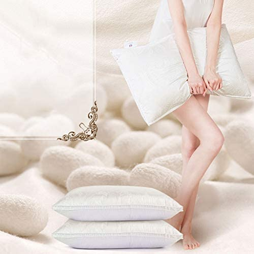 Oreiller Confortable Un Seul, Sommeil, Coton Fluffy, Simple Double Accueil, col de l'utérus for Les Hommes et Les Femmes. Doux