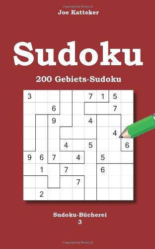 Sudoku 200 Gebiets-Sudoku: Sudoku-Bücherei 3