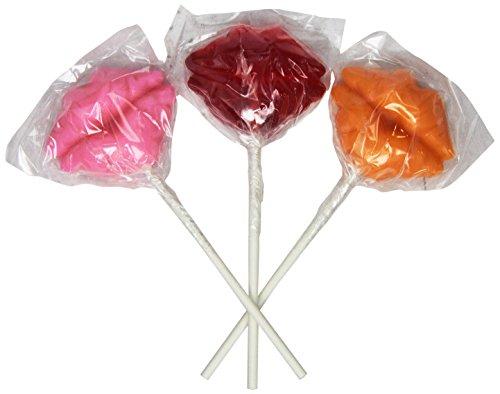 My Idol Pops Lollipop, Lips , 1 Ounce (Pack of 24)