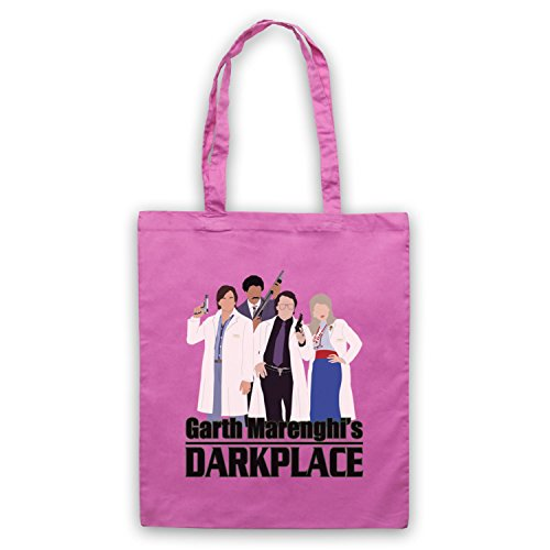 Characters Par D'emballage Darkplace Inspire Officieux Garth Marenghi's Rose Sac ZqnIp