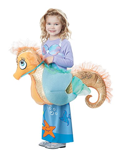 California Costumes Seaquestrian Mermaid Costume, Multi, Toddler (3-6) (Sea Mermaid Costume)