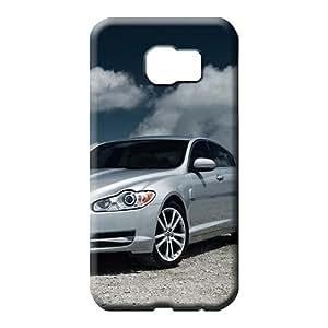 samsung galaxy s6 edge Shock Absorbing High Quality High Grade cell phone skins Aston martin Luxury car logo super