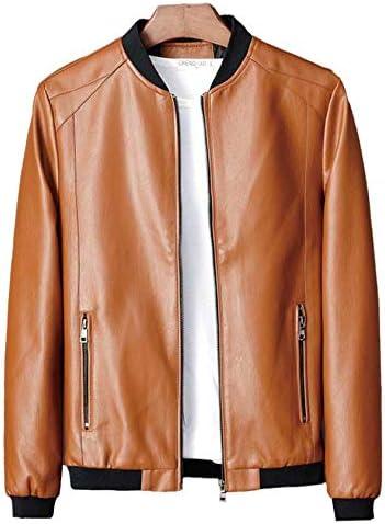 【SUNKAKU】ライダースジャケット 皮ジャン PUレザー メンズ レザージャケット レザーコート 革ジャン ブルゾン アウター 上質 シングルライダース ジャケット メンズアウター