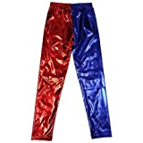 Blue Planet Fancy Dress  7-11 Years Childrens Kids Red Blue Leggings Halloween (9-11 Years)