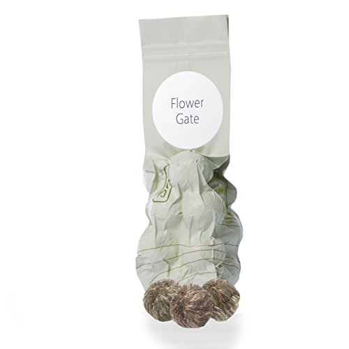 Artistic Show Tea | Nigiro Flower Gate (3.5oz) | Low Caffeine | Ultra Loose Tea Leaf Selection