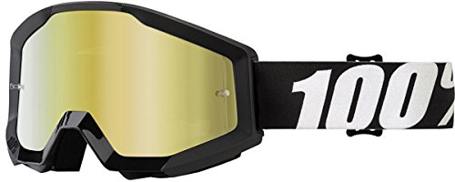 100% Strata Goggle + Mirror Lens-Outlaw by 100%