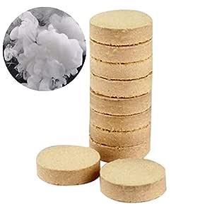 10pcs Ahumado Pastel para Evento Fiesta Rendimiento DIY Efecto Humo Blanco Efecto Humo Show Bomb Redonda fotografía Ayuda para Fiesta de Eventos