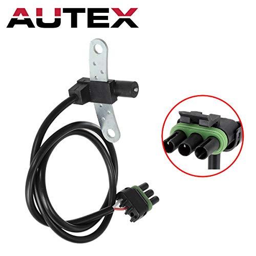 AUTEX Crankshaft Position Sensor PC87 compatible with Jeep Cherokee & Comanche & Wagoneer 1986-1990/Jeep Wrangler 1987-1990/Renault Alliance 1983-1987/Renault Encore - Jeep 1987 1985