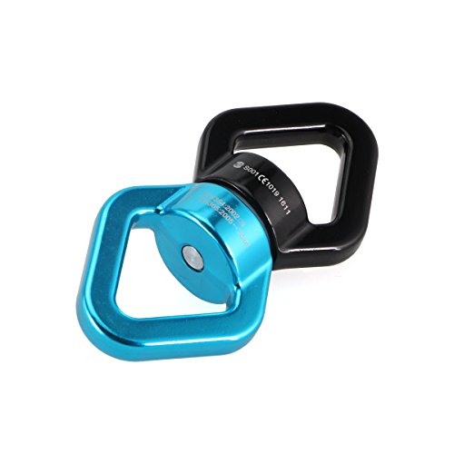 safety-hanging-accessory-rotational-device-climbing-carabiner-gimbal-ring-black-blue