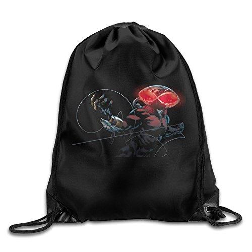 [SUPMOON Black Manta Fashion Sport Bag] (Aquaman Halloween Costumes)