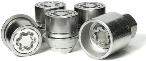 UKB4C Anti Theft Locking Wheel Nut Set fits Ford Mondeo Mk4 20072013 Thatcham Approved