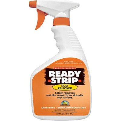 Ready-Strip 32 Ounce Rust Remover Spray [Set of 6] (Strip Remover Ready)