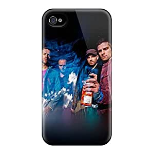 Best Hard Phone Case For Iphone 4/4s With Customized High-definition Coldplay Band Image ChristopherWalsh