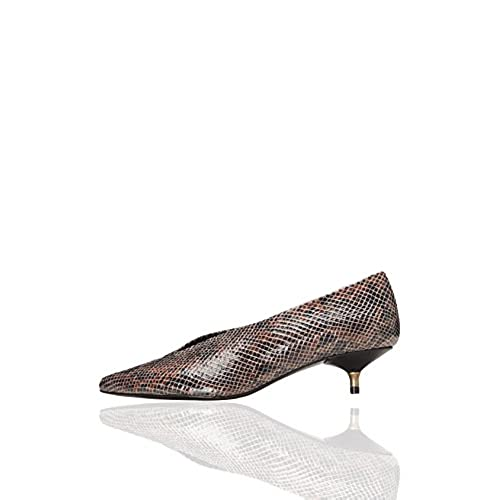 FIND Zapatos de Piel con Tacón Kitten Mujer Chic - www.ellio.es 1116abc836c7