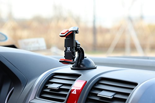 Exogear ExoMount Ultra Car Mount for ALL iPhones and ALL iPhones and ALL Samsung Galaxy Phones (including iPhone 7, iPhone 7 Plus, 6S, Plus, All Samsung Galaxy including Galaxy S8 and Galaxy S8+, Note and Edge Phones. Includes all other smartphones and cell phones from 3.5 to 6.2 inch screens