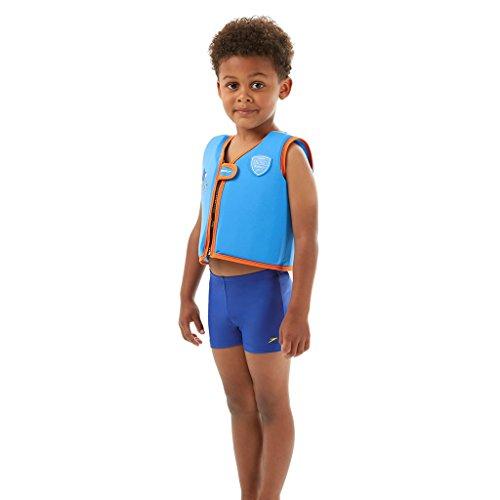 Speedo Unisex - Kinder Schwimmweste Sea Squad, japan blau/salso, 2-4, 8-0919494902-4