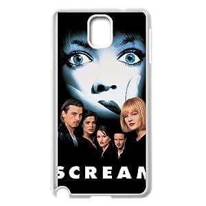 Scream Samsung Galaxy Note 3 Cell Phone Case White JN8K527C