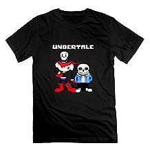 Undertale Men's T Shirt M,Black