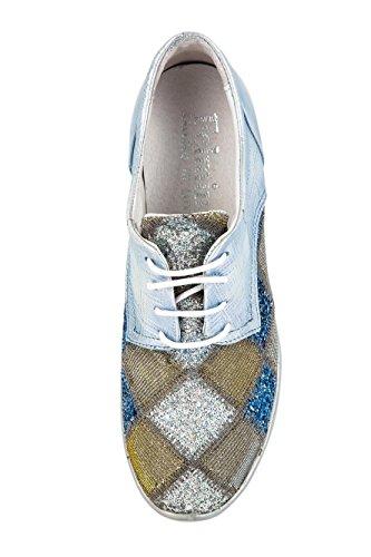 Piel de Mujer 37 Original Samples Para Azul FM 125 Zapatillas Felmini Azul EU Lisa YRw1qq