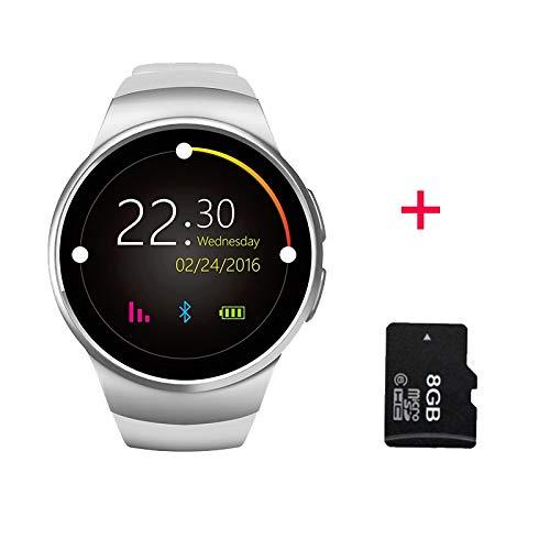 Amazon.com: Grass 135 lemfo kw18 Bluetooth Smart Watch Full ...