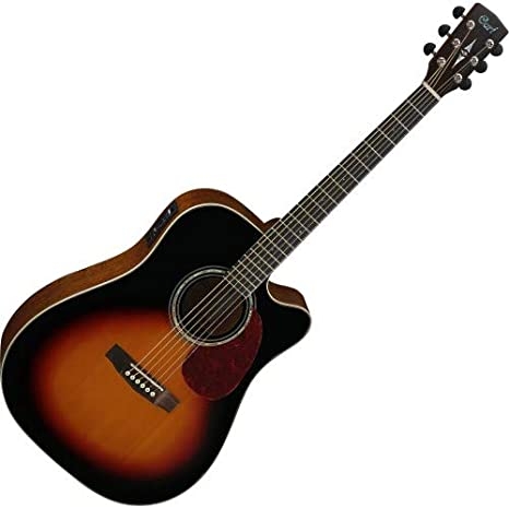 Guitarra electroacustica Cort MR710F SB: Amazon.es: Instrumentos ...