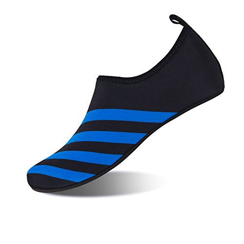 Shoes Mens Pool Surf Sport Quick 4gang Water Black Blue Swim Shoes for Dry DKRUCAK Socks Womens Barefoot Yoga Water Aqua Beach dtFqnCxffw