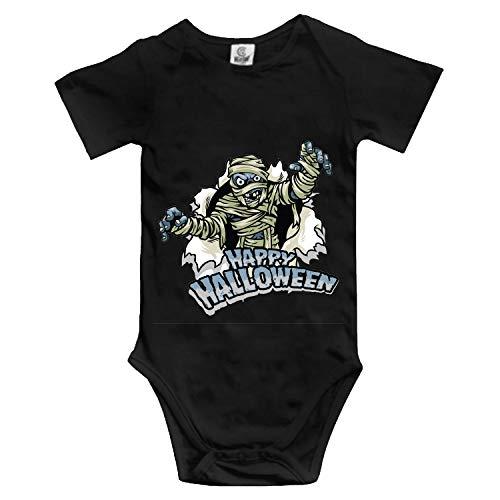 BABBY Baby Clothing with Halloween Design Mummy Funny Baby Bodysuit]()