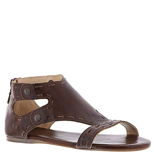 Bed|Stu Womens Ladies Soto Sandals 8 M US Teak Mason Leather