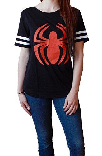 Spiderman Varsity style Junior's T-shirt M