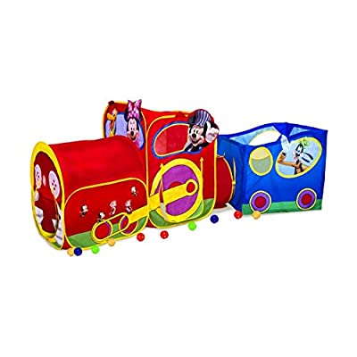 Playhut Mickey Mouse Train: Toys & Games