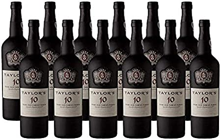 Vino de Oporto Taylors 10 años - Vino Fortificado- 12 Botellas