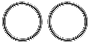 5 - Country Brook Design 2 Inch Welded Heavy Duty O-Rings