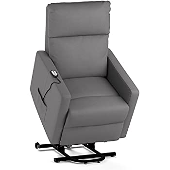 Power Lift Wall Hugger Recliner Chair Synthetic Leather (Taupe)  sc 1 st  Amazon.com & Amazon.com: Power Lift Wall Hugger Recliner Chair Synthetic ... islam-shia.org