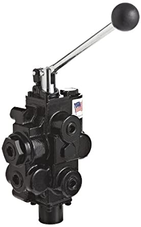 Prince RD512CA1A4C1 Directional Control Valve 1 Spool 3 Positions In//Out: 3//4 NPT Female Lever Handle Monoblock 3000 psi Work 1//2 NPT Female Tandem Cast Iron 4 Ways Spring Center 30 gpm