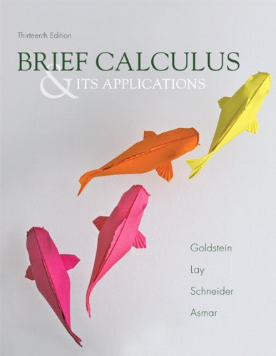 Books : Brief Calculus & Its Applications (13th Edition)