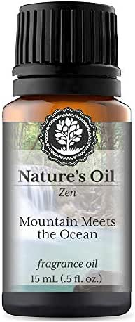 Mountain Meets The Ocean Fragrance Oil (15ml) For Diffusers, Soap Making, Candles, Lotion, Home Scents, Linen Spray, Bath Bombs, Slime