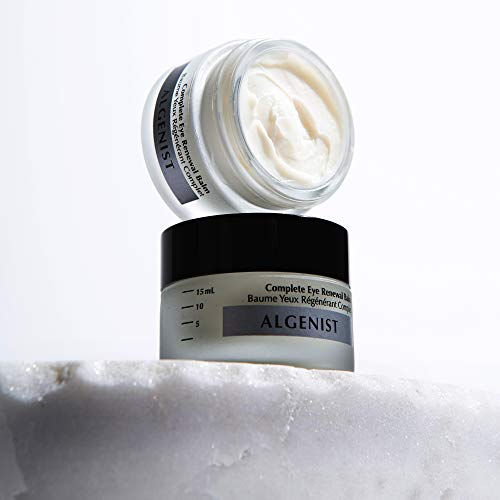 Algenist Complete Eye Renewal Balm – Vegan Hydrating & Soothing Under Eye Primer with Vitamin C, Caffeine and Cucumber…