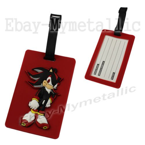 Sonic The Hedgehog Travel Accessories Luggage Name Tag Red Buy Online In Congo Mymetallic Products In Congo See Prices Reviews And Free Delivery Over 40 000 Fc Desertcart