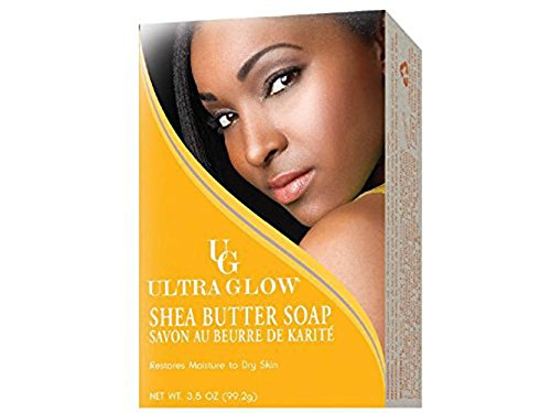 (Ultra Glow Soap - Shea Butter 3.5 oz. (Pack of 2))