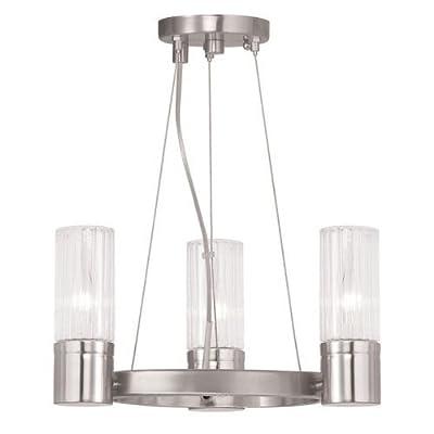 Livex Lighting 50693-05 Midtown 3 Light Mini Chandelier,Chrome