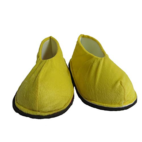 Adult Mascot Costume Parts Accessories for Minnie Mouse Cosplay Character (Shoes) Yellow