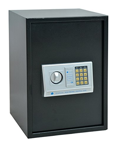 Homegear Large 1.8CF Electronic Safe Security Box for Pistols Money Jewelry Passport by Homegear (Image #6)