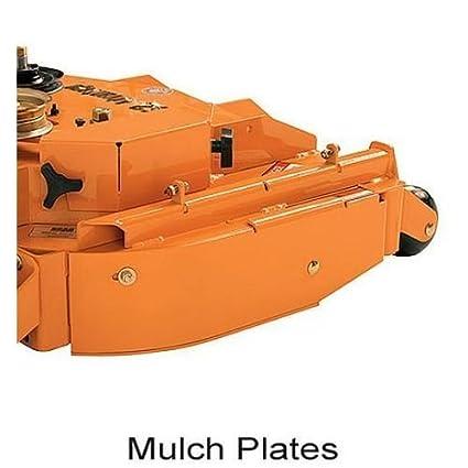 Amazon.com: 9258 SCAG OEM mulching placa: Jardín y Exteriores