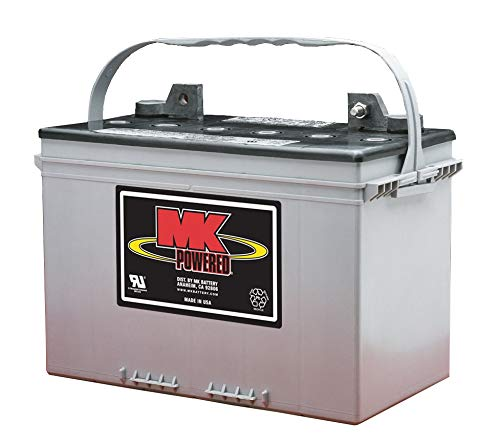 MK Deep Cycle AGM 12 Volt Battery for Backup Sump Pumps