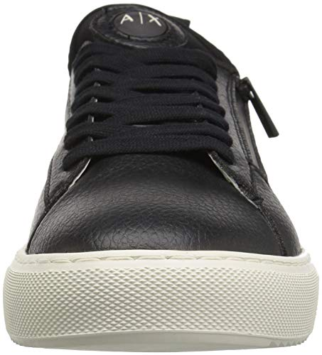 Armani X Black Exchange Up Sneaker Men's Low Lace A Top RpqFw5Sqx