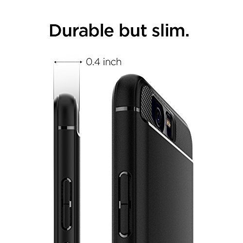 Spigen Rugged Armor Huawei P10 Plus Case with Resilient Shock Absorption and Carbon Fiber Design for Huawei P10 Plus(2017) - Rugged Armor by Spigen (Image #5)