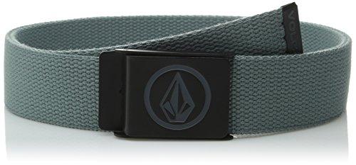 Volcom Men's Cirlce Web Belt, Lead, One  - Volcom Mens Belt Buckle Shopping Results