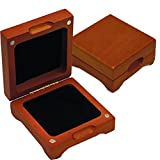Single Coin Wood Display Box